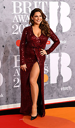 February 21, 2019 - London, London, United Kingdom - Image licensed to i-Images Picture Agency. 20/02/2019. London, United Kingdom. Kelly Brook at the Brit Awards in London. (Credit Image: © i-Images via ZUMA Press)