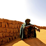Polisario Front fighters stationed in Tifariti Province in the Western Sahara liberated territories.