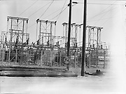 "9904-B03C. ""Albina Shipyard site. Electrical station. September 15, 1950"" (no story in Oregonian newspaper)"