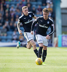 Scott Allan. Dundee 1 v 2 Ross County, Scottish Premiership game played 5/8/2017 at Dundee's home ground Dens Park.