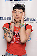 Portraits of the rapper Kreayshawn at SiriusXM Studios, NYC. August 13, 2012. Copyright © 2012 Matthew Eisman. All Rights Reserved.