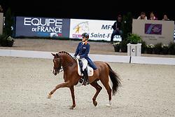 Witte-Vrees Madeleine, NED, Cennin<br /> LONGINES FEI World Cup™ Finals Paris 2018<br /> © Hippo Foto - Dirk Caremans<br /> 13/04/2018