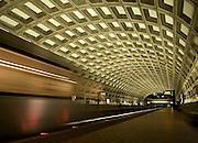Underground Metro during Washington DC Blizzard 2010