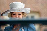 His highness prince Pieter-Christiaan of Oranje Nassau, of Vollenhoven and Ms drs. A.T. van Eijk get married Thursday 25 augusts in Palace the Loo in apeldoorn.<br /> <br /> <br /> Zijne Hoogheid Prins Pieter-Christiaan van Oranje-Nassau, van Vollenhoven en mevrouw drs. A.T. van Eijk treden donderdag 25 augustus in Paleis Het Loo te Apeldoorn in het huwelijk. <br /> <br /> On the photo/Op de foto:<br /> <br /> <br /> Hare Majesteit de Koningin Beatrix / Queen Beatrix