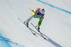 PYEONGCHANG-GUN, SOUTH KOREA - FEBRUARY 21: Marusa Ferk of Slovenia competes during the Ladies' Downhill on day 12 of the PyeongChang 2018 Winter Olympic Games at Jeongseon Alpine Centre on February 21, 2018 in Pyeongchang-gun, South Korea. Photo by Ronald Hoogendoorn / Sportida