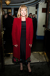 Fay Ripley attends the Beginning press night at the Ambassadors Theatre, London. Picture date: Tuesday 23rd January 2018.  Photo credit should read:  David Jensen/ EMPICS Entertainment