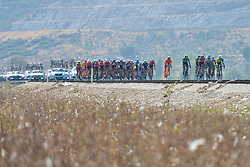October 14, 2017 - Izmir, Turkey - The peloton during the fifth stage - the 166 km Vestel Selcuk to Izmir, the second last stage of the 53rd Presidential Cycling Tour of Turkey 2017..On Saturday, 14 October 2017, in Izmir, Turkey. (Credit Image: © Artur Widak/NurPhoto via ZUMA Press)