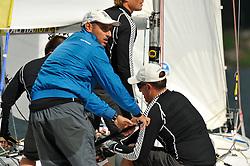 Bruni v Richard. Photo:Chris Davies/WMRT