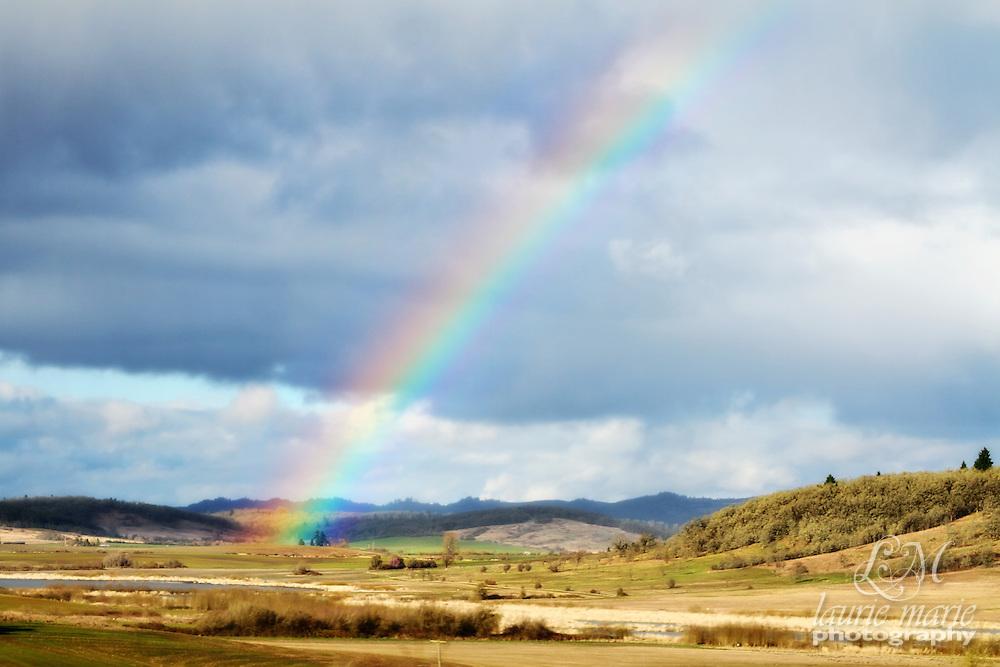 Rainbow in the Willamette Valley