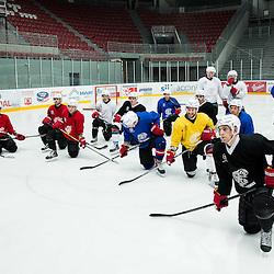 20150415: SLO, Ice Hockey - Practice session of HD Jesenice