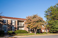 Exterior photo of  Courthouse Square Apartments by Jeffrey Sauers of Commercial Photographics