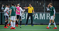 AMSTELVEEN - scheidsrechter Michiel Otten   tijdens de hoofdklasse competitiewedstrijd heren, AMSTERDAM-ROTTERDAM (2-2). . COPYRIGHT KOEN SUYK