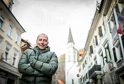 Portrait of Tomas Globocnik, former Slovenian Biathlon athlete, on January 12, 2018 in Trzic, Slovenia. Photo by Vid Ponikvar / Sportida