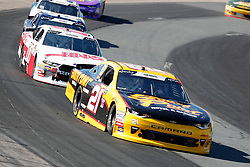 July 21, 2018 - Loudon, NH, U.S. - LOUDON, NH - JULY 21: Daniel Hemric, Xfinity Series driver of the South Point Hotel & Casino Chevrolet (21), during the Xfinity Series Lakes Region 200 on July 21, 2018, at New Hampshire Motor Speedway in Loudon, New Hampshire. (Photo by Fred Kfoury III/Icon Sportswire) (Credit Image: © Fred Kfoury Iii/Icon SMI via ZUMA Press)