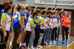 Sergeja Stefanisin during Exhibition game of Slovenian women handball legends on 29th of September, Celje, Slovenija 2018