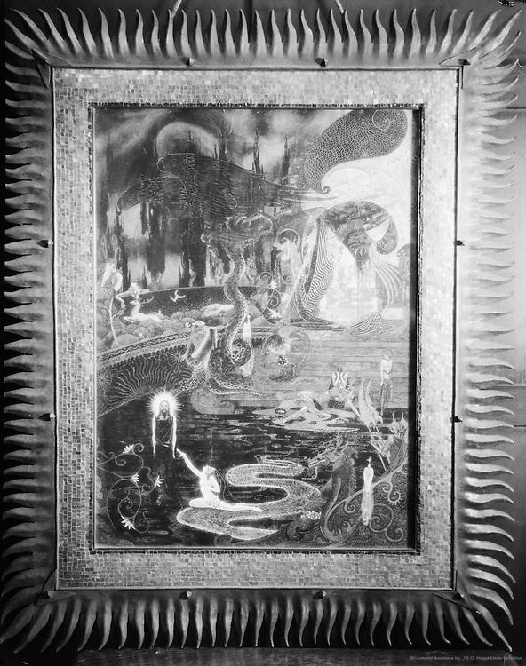 Elizabeth Nelvi (Mrs Edmondson Craig), artist and opera singer, artwork, 1926
