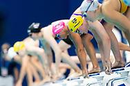 Start<br /> HANSSON Louise SWE<br /> 50m Breaststroke Women Heats<br /> Swimming<br /> Budapest  - Hungary  22/5/2021<br /> Duna Arena<br /> XXXV LEN European Aquatic Championships<br /> Photo Giorgio Scala / Deepbluemedia / Insidefoto