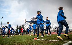 Chanwoo Kim of Bravo during first practice session of NK Bravo before the spring season of Prva liga Telekom Slovenije 2020/21, on January 5, 2021 in Sports park ZAK, Ljubljana Slovenia. Photo by Vid Ponikvar / Sportida