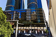 Another great example of Sydney's sustainable office buildings is the Accenture building in Barangaroo, Sydney. The company is situated in  International House. It is the first engineered timber office in Australia. The timber beams and floors absorb noise and the windows provide filtered sunlight.This timber building provides great thermal performance . which means it is low cost to heat and cool.