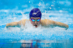 Sionhan-Marie O'Connor of Bath University wins the Womens 200m Individual Medlay Final - Photo mandatory by-line: Rogan Thomson/JMP - 07966 386802 - 16/04/2015 - SPORT - SWIMMING - The London Aquatics Centre, England - Day 3 - British Swimming Championships 2015.