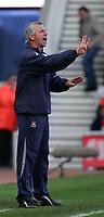 Photo: Andrew Unwin.<br />Middlesbrough v West Ham United. The Barclays Premiership. 17/04/2006.<br />West Ham's manager, Alan Pardew.