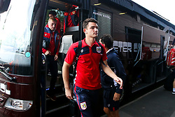 Max O'Leary of Bristol City arrives at the Hawthorns for the Sky Bet Championship fixture against West Bromwich Albion - Mandatory by-line: Robbie Stephenson/JMP - 18/09/2018 - FOOTBALL - The Hawthorns - West Bromwich, England - West Bromwich Albion v Bristol City - Sky Bet Championship