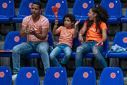 Orange support in action during United States - Netherlands, FIVB U20 Women's World Championship on July 15, 2021 in Rotterdam