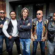 NLD/Amsterdam/20150618 - Voorvertoning Satudarah – One Blood documentaire, clubleden en documentairemaker Joost van der Valk