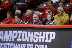 28 January 2015:   Dave Collee during an NCAA MVC (Missouri Valley Conference) men's basketball game between the Missouri State Bears and the Illinois State Redbirds at Redbird Arena in Normal Illinois