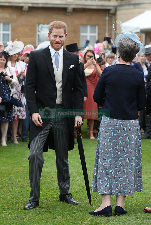 May 29, 2019: London, United Kingdom: Prince Harry, The Duke of Sussex, at a Royal Garden Party at Buckingham Palace in London. (Credit Image: © Pool/i-Images via ZUMA Press)