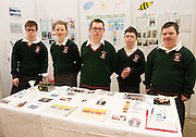 27/11/2016 REPRO FREE: Students from Calasanctius College, Oranmore at their exhibit stand about Water Treatment. Tom Callagy, Leanne Connaughton, Robert Comber, Eoin Lucy and Aaron Keogh, inNUI Galway as part of the Galway Science & Technology Festival.<br />  <br /> <br /> Photo: Andrew Downes, Xposure.