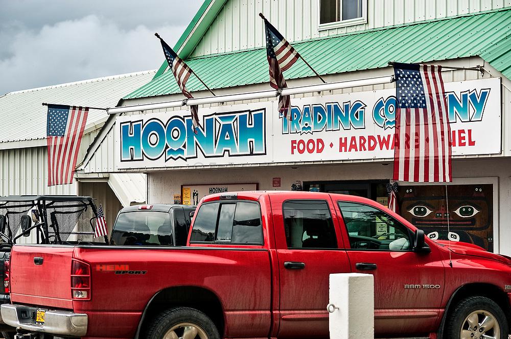 General store, Hoonah, Icy Strait, Alaska, USA