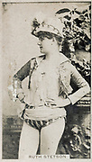 Ruth Stetson, from the Actresses series issued by Kinney Brothers to promote Sweet Caporal Cigarettes 1890