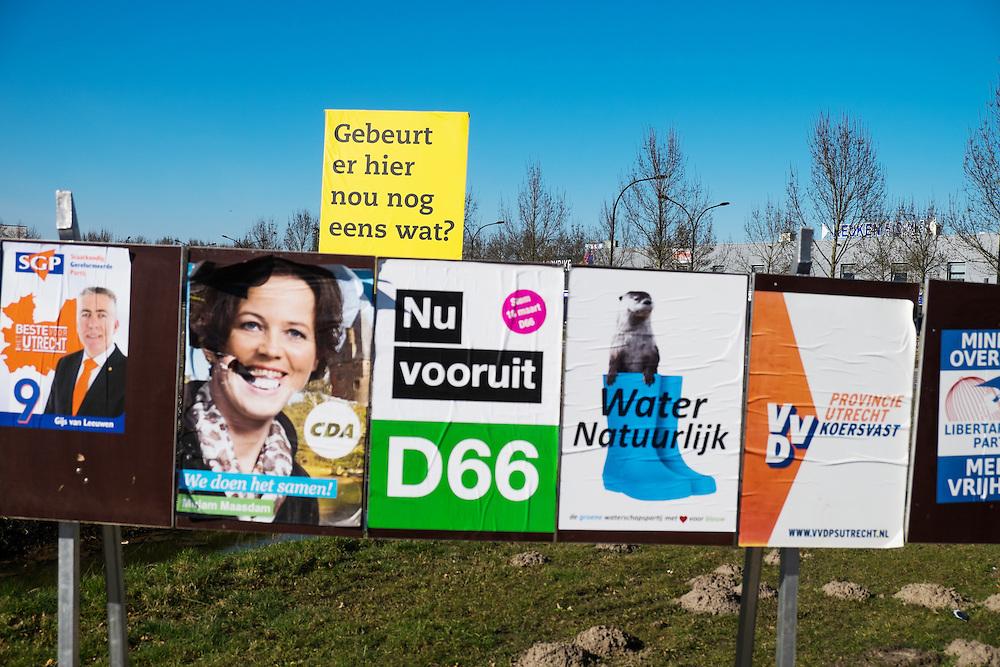 Nederland, Deurne, 11 maart 2015<br /> Debat over veehouderij georganiseerd door Milieudefensie.<br /> Foto: (c) Michiel Wijnbergh