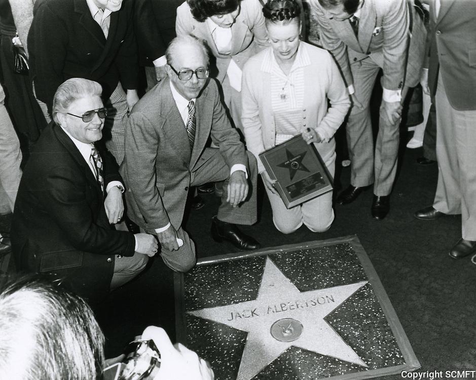 1977 Jack Albertson's Walk of Fame ceremony