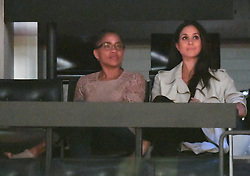 Meghan Markle and Mother Doria Ragland attend The Invictus Games 2017 Closing Ceremony at the Air Canada Centre, Toronto, Ontario, Canada, on the 30th September 2017. 01 Oct 2017 Pictured: Meghan Markle and Mother Doria Ragland attend The Invictus Games 2017 Closing Ceremony at the Air Canada Centre, Toronto, Ontario, Canada, on the 30th September 2017. Picture by James Whatling. Photo credit: James Whatling / MEGA TheMegaAgency.com +1 888 505 6342