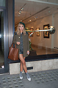 SUKI WATERHOUSE, Vogue's Fashion night out special opening of the Halcyon Gallery.  New Bond St. London. 6 December 2012.