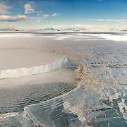 Grounded Iceberg, McMurdo Sound, Antarctica.