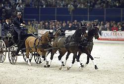 Show IJsbrandt Chardon<br />KWPN hengstenkeuring 2003<br />Photo © Dirk Caremans