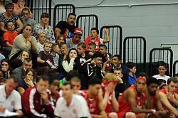 Bristol Flyer fans - Photo mandatory by-line: Dougie Allward/JMP - Mobile: 07966 386802 - 18/10/2014 - SPORT - Basketball - Bristol - SGS Wise Campus - Bristol Flyers v Durham Wildcats - British Basketball League
