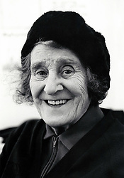 Portrait of an elderly woman, Nottingham, UK 1989