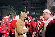 SantaCon is an annual Father Christmas themed pub crawl happening globally. In 2013 SantaCon was organised in 300 cities across the world, including London.