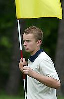 MOLENSCHOT - Joost Luiten.    Voorjaarswedstrijd golf 2003 op GC Toxandria. . COPYRIGHT KOEN SUYK