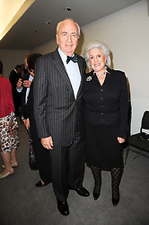 LORD & LADY YOUNG OF GRAFFHAM at the opening reception of the new Jewish Museum, Raymond Burton House, 129-131 Albert Street, London NW1 on 16th March 2010.