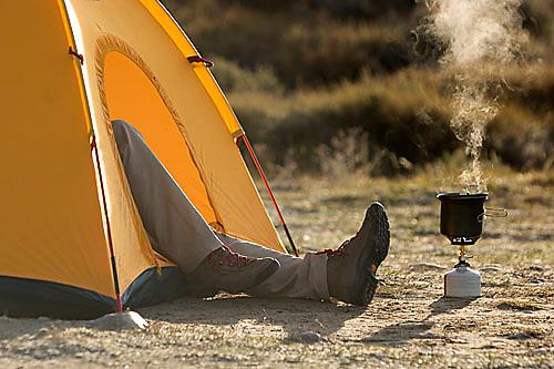 Camping in Grand Teton National Park, CA