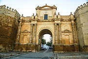 Spain, Seville, Carmona, Palace of King Don Pedro, built in the 13th century by Peter I of Castile. It was damaged by an earthquake in 1504