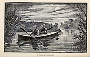 Paddle By Moonlight From the book  ' Athletics and manly sport ' by John Boyle O'Reilly, 1844-1890 Published in Boston, by Pilot publishing company in 1890. DEDICATED TO THOSE WHO BELIEVE THAT A LOVE FOR INNOCENT SPORT, PLAYFUL EXERCISE. AND ENJOYMENT OF NATURE, IS A BLESSING INTENDED NOT ONLY FOR THE YEARS OF BOYHOOD, BUT FOR THE WHOLE LIFE OF A MAN