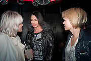 EMMA CONLEY,; NAT WELLER; HOLLY DAVIDSON; , The launch screening of ÔAnimal CharmÕ  and ÔSusie LovittÕ - W hotel leicester sq. London. 31 January 2012.<br /> EMMA CONLEY,; NAT WELLER; HOLLY DAVIDSON; , The launch screening of 'Animal Charm'  and 'Susie Lovitt' - W hotel leicester sq. London. 31 January 2012.