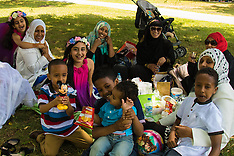 2015-07-17 Muslims celebrate Eid in London
