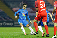 Jamie Stott. Stockport County FC 4-0 Chesterfield FC. Emirates FA Cup. 4.11.20